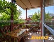 Балкон с кухонным уголком