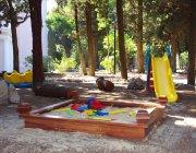 Детская площадка у корпуса Вилла