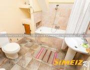 Ванная комната в спальне на 1-м этаже. Западная половина