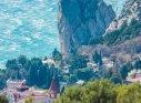 Крым, Симеиз, скала Крыло Лебедя, можжевеловая роща