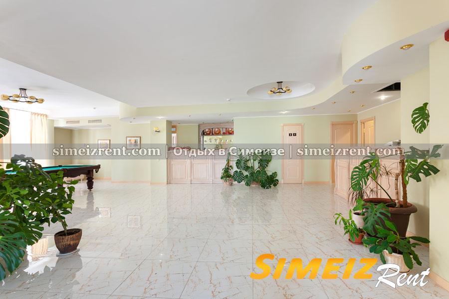 Reception, холл (корпус СПА)