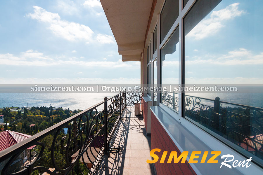 №1 - балкон двухкомнатного люкса