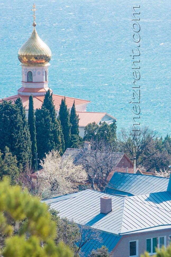 Крым, Симеиз, церковь