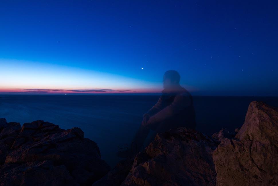 Крым, Симеиз, скала Дива, рассвет