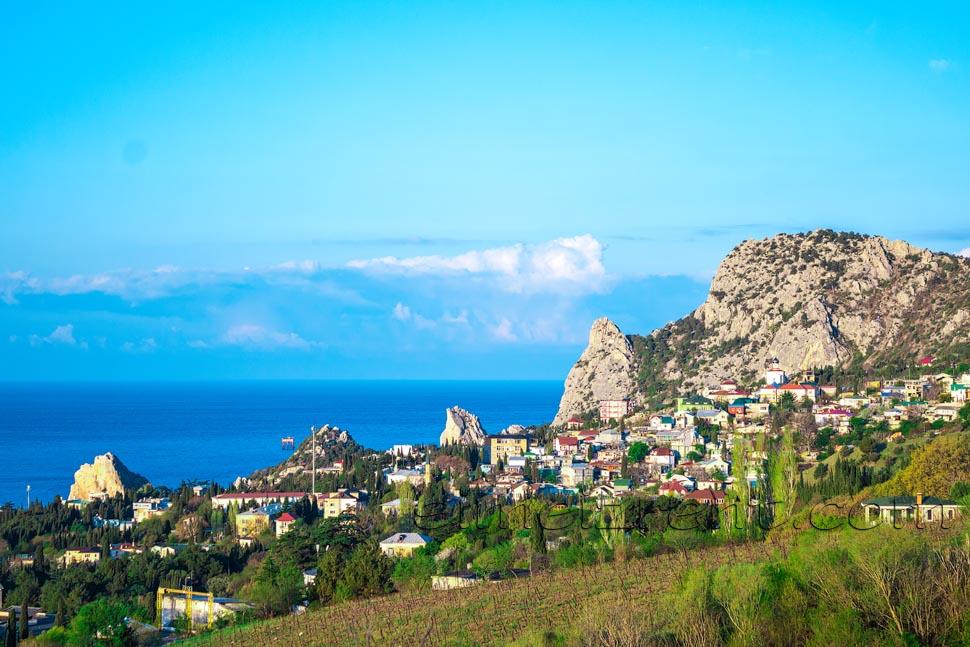 Крым, Симеиз, гора Кошка, скала Дива