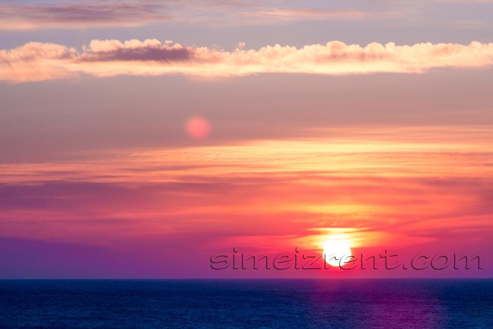 Крым, Симеиз, рассвет со скалы Дива