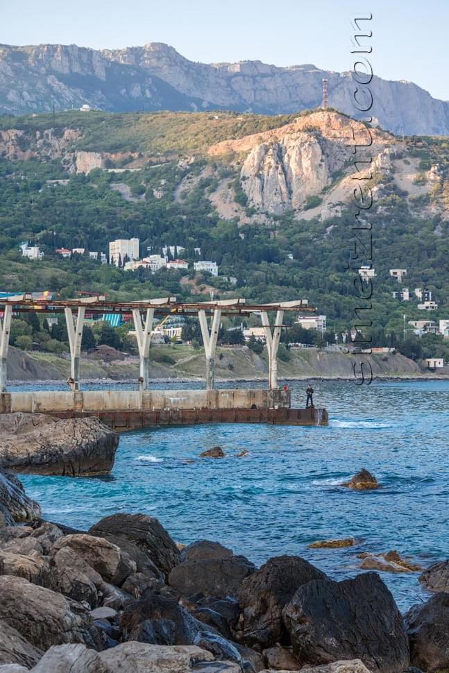 Крым, Симеиз, Голубой залив